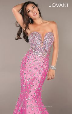 The featured dress of our Pretty in Pink for Prom Contest! Jovani #944. Win it on Twitter, https://twitter.com/MissesDressy