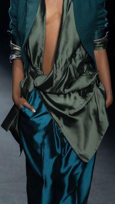 Fashion details | Comment: Wrappings. Haider Ackermann 2013. fashionradicals.com
