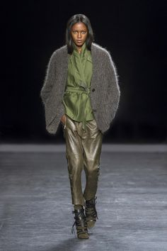 Isabel Marant - Collection Automne - Hiver 2014 - Look 12