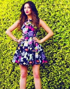 Floral dress | Shay Mitchell - buy this #dress with http://dressapp.tv