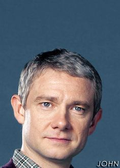 Great picture of Martin Freeman as John Watson