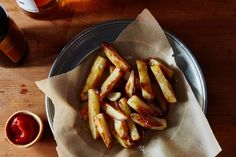 A trick for the best french fries you can make at home -- in the oven, using less oil than you'd put on a salad. Game on.