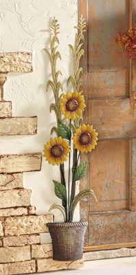 sunflower garden accent
