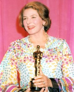 """2/08/2014 11:00pm The Academy Awards Ceremony 1975: Ingrid Bergman Best Supporting Actress Oscar for """"Murder on the Orient Express"""" 1974."""