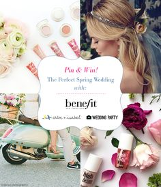 Score $1000+ from @benefitbeauty @chloeandisabel and Wedding Party to pamper your bridal party! Click the image to enter our #springweddingsweepstakes