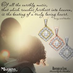 #Diamonds powered by her heartbeat..... #RhythmOfLove #Love #FashionJewelry