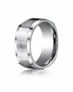 Titanium, 9mm Comfort-Fit Satin-Finished Four-Sided Design Ring (sz 6-14) Aetonal. $92.00. Comfort fit interior insures a lifetime of comfortable wear.. Machined from a solid piece of premium hi-tech metal for a stronger more durable ring.. Manufactured to your specifications and finger size. We never size a ring up or down to fit you.. Lifetime guarantee against manufacturing defects and lifetime free ring sizing.