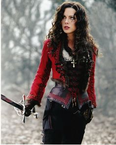 Kate Beckinsale as Anna Valerious from 'Van Helsing'.