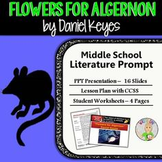 three life lessons from flower for algernon Also contained in the october 4 hallucination is the reference to a multi-petaled flower flowers for algernon - questions enough fulfillment in life.