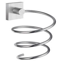 Smedbo - Hairdryer Holder in Brushed Chrome Finish Beautiful Bathrooms, Chrome Finish, Hair Dryer, Bathroom Accessories, It Is Finished, Organization, Cosmetics, Silver, Grey