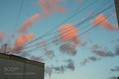 sky in wires by enikben