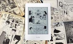 Nuevo Kindle pensado para leer manga
