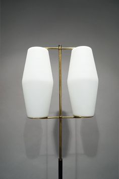 Floor Lamp by Stilnovo, Italy circa 1950   From a unique collection of antique and modern floor lamps  at https://www.1stdibs.com/furniture/lighting/floor-lamps/