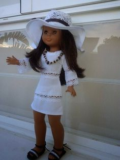 401 best images about Muñeca Nancy Vestidos Nancy, American Girl, Nancy Doll, American Doll Clothes, Doll Dress Patterns, Little Doll, Reborn Dolls, Crochet, Casual