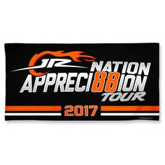 Dale Earnhardt Jr. WinCraft JR Nation Appreci88ion Tour 30'' x 60'' Spectra Beach Towel