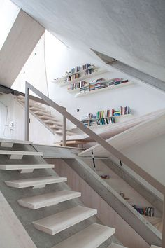 Stairs and angles at B14 Residence by XTH-Berlin