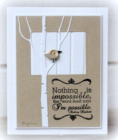 IC401 I´m possible by Biggan - Cards and Paper Crafts at Splitcoaststampers