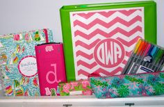 Prep In Your Step: Perfectly Preppy and Incredibly Organized School Supplies