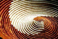 BASKET WEAVING IN ghana AFRICA | golden-coloured basket [Photo by BBC News website reader David Mowbray ...