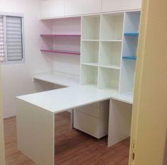 Home Office Taci&Fer sem a decoração