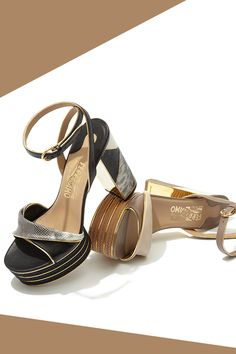 We're going gaga over these #SalvatoreFerragamo Gaga Platforms #10022Shoe