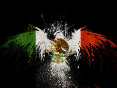 la bandera de México!