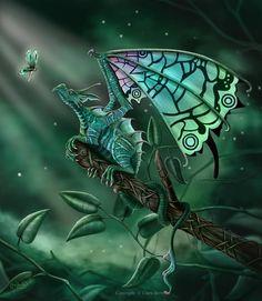 """A Celtic Secret"" by CLB-Raveneye @ deviantart"