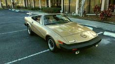 1979 TR7 Roadster, Low miles $3,450 - Florida #ForSale #BritishCars