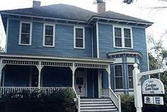 - OldHouses.com - 1890 Victorian - The Wedgewood Blue Crenshaw House in Auburn, Alabama -