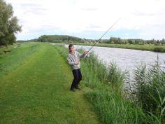 Afwateringskanaal Duurswold- vissen!