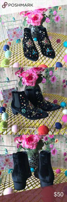 Spotted while shopping on Poshmark: Betsey Johnson studded ankle boots! #poshmark #fashion #shopping #style #Betsey Johnson #Shoes