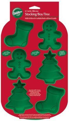 $8.88 Wilton 6 Cavity Silicone Stocking, Boy and Tree Mold Pan by Wilton, http://www.amazon.com/dp/B00266PPU6/ref=cm_sw_r_pi_dp_mcfIrb00X4C54