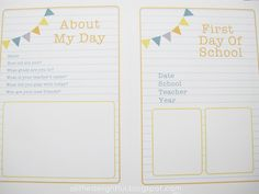 a little delightful: {printable} back to school - countdown + interview