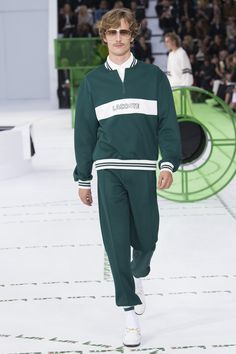 5e0e7445f4ba9 Lacoste Spring 2018 Ready-to-Wear Fashion Show. LacosteMens Fashion OnlineSpring  Summer ...