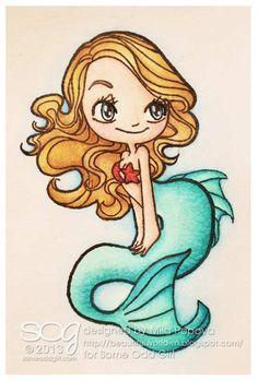 Gabby Zapata Mermaid