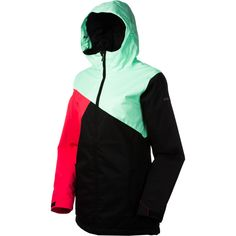 Dc styro snowboard jacket womens