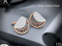 And I think I'm gonna love you for a long long time! #diamond #earring…
