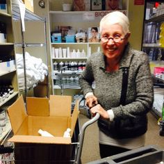 Look who's helping us stock our product shelves !! #catherinehinds #lovethewayyoulook #inwithskin