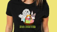 Happy Easter Maltese tshirt