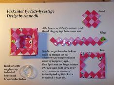 Pink fyrfadsstage Candy Wrappers, Paper Beads, Bottle Crafts, Origami, Decoupage, Diy And Crafts, Upcycle, Cafe Idea, Paper Envelopes