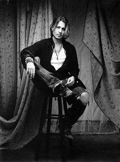 I try not to give in, but... my Johnny crush will never fade.  Johnny Depp by Robert Maxwell