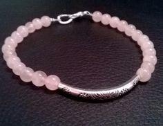 Bracelet stone Rozenkvarc