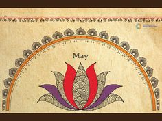 Interactive Games calender inspired by Madhubani art Madhubani Art, Madhubani Painting, Mandala Painting, Mandala Drawing, Mandala Art, Saree Painting, Fabric Painting, Diy Painting, Art Calendar