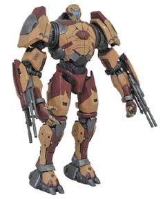 Armed with twin cannons on its left and right forearms, Valor Omega is a broad and heavily armored Mark-6 Jaeger that primarily focuses on firepower.