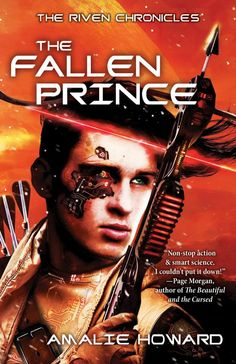 Mythical Books: a mysterious new threat - The Fallen Prince (The Almost Girl #2) by Amalie Howard