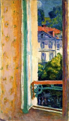 Window in Uriage-Pierre Bonnard - 1919