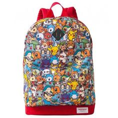 Pokemon Center 2014 Pokemon Petit Campaign Eevee Mew Absol Arcanine Raichu & Friends Backpack Size L (Adult)