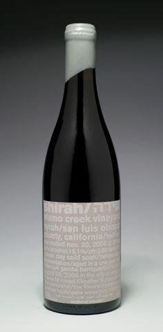 Yael Miller / Wine / Wine label for Shirah