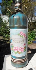 Decoupage Bottles by Carlos Rossi : Julho 2016
