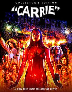 Carrie - Scream Factory Deluxe Limited Collector's Edition Slipcover